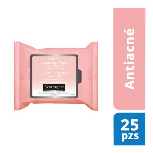 Toallitas Limpiadoras Extracto Toronja 25 Pzas Neutrogena