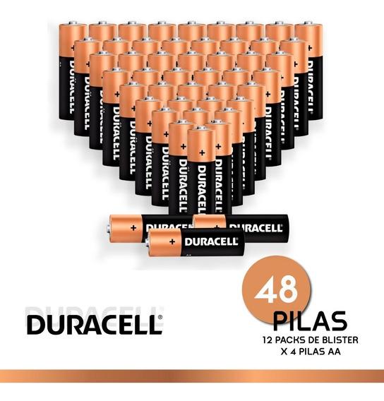 Pila Duracell Alcalina Aa Pack X 48 Unidades