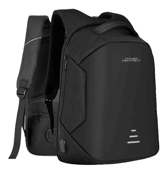 Mochila Backpack Impermeable Reflejante Usb