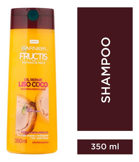 Shampoo Oil Repair Liso Coco Fructis X350ml Garnier