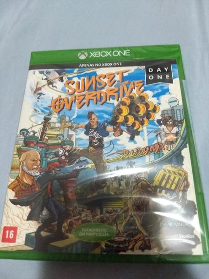 Sunset Overdrive Lacrado E Original Xbox One