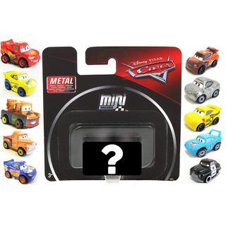 Veiculo Surpresa Metal Mini Racers Carros Disney Pixar Fkl39