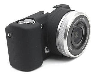 Funda De Camara Sony Alpha A5000/5100 A6000 A6500 Silicona