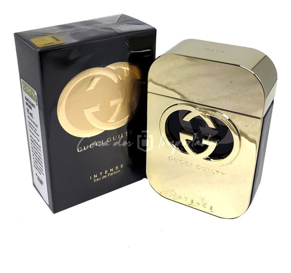 Gucci Guilty Intense Edp 75ml Feminino + Amostra De Brinde