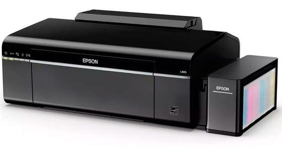 Impresora Epson L805 Ecotank Tinta Continua Fotografica Cd Dvd Inalambrica