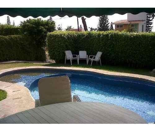 Hermosa Casa Con Alberca En Lomas De Cocoyoc