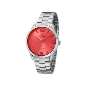 Relógio Analógico Feminino Champion Prata Novo Cn29892t