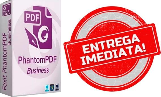 Editor De Pdf - Foxit Phantompdf Business 10 - Versão 2020