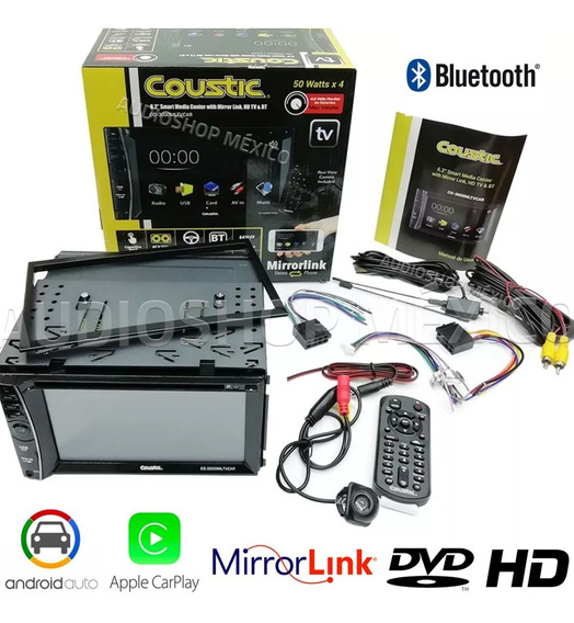 Autoestereo Car Media Hd Mirrorlink Bluetooth Tv Can Reversa