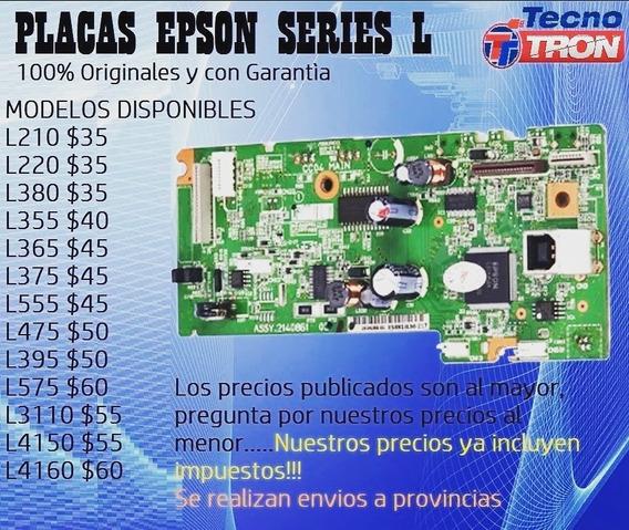 Placa De Impresora Epson