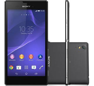 Sony Xperia T3 D5106 8gb 1gb Ram 8mp Preto Vitrine 1