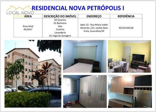 Imagem 1 de 1 de Apartamento Residencial À Venda, Vila Izabel, Guarulhos. - Ap0267