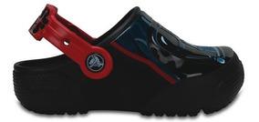 Zapato Crocs Infantil Crocs Funlab Darth Vader Con Luces