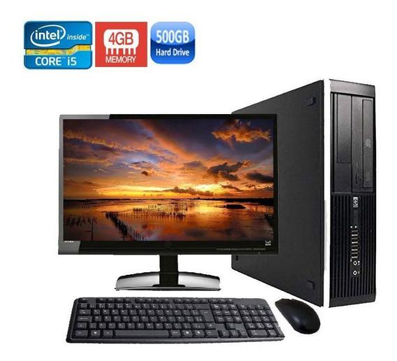 Computador Completo Hp 8300 Sff I5 3ºger 4gb Hd 500gb+wifi