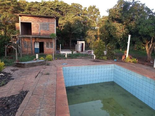 Imagem 1 de 18 de Chácara Com 2 Dormitórios À Venda, 10000 M² Por R$ 660.000,00 - Loteamento Porto Dourado - Foz Do Iguaçu/pr - Ch0017