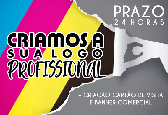 Criação Logomarca, Logotipo, Identidade Visual,cartão Sacola
