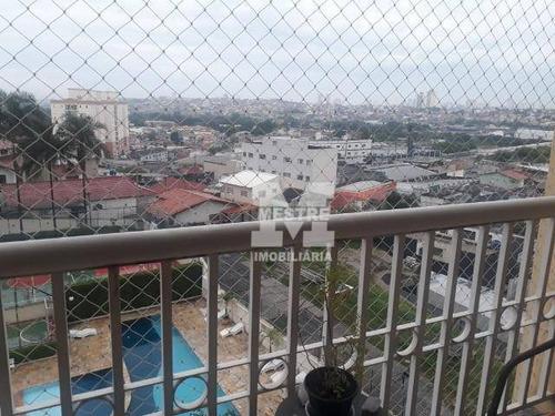 Apartamento Com 3 Dormitórios À Venda, 75 M² Por R$ 486.000,02 - Ponte Grande - Guarulhos/sp - Ap2861