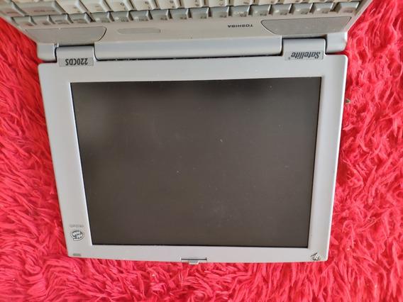Notebook Toshiba Satellite Mdl-pa12400u-vcd Defeito