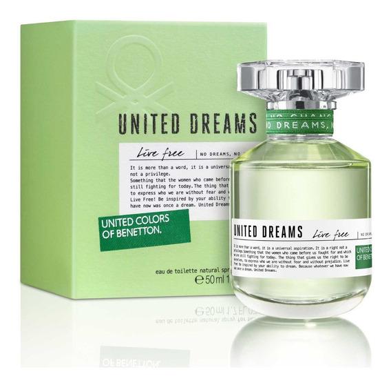 Perfume Benetton United Dreams Live Free Feminino Eau De Toi