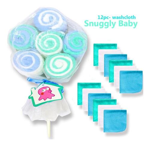 Set 12 Babitas En Flor Rosa O Azul - Bebés Y Niños