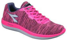 Tenis Diadora Sense W Cor Pink/blue