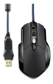Mouse Pad + Mouse Gamer Warrior 3200dpi Mo191 Multilaser