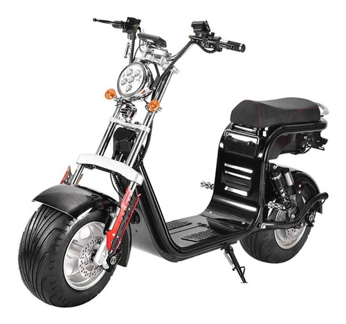 Imagem 1 de 11 de Scooter Elétrico \ Patinete Eletrico 2000w Bateria 20 Ah 60v