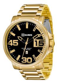 Relógio X-games Masculino Analógico Xmgs1018 P2kx Dourado