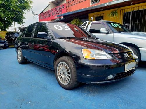 Civic 1.7 Lx - Mecânico - 2003 - Gasolina - Revisado!!!