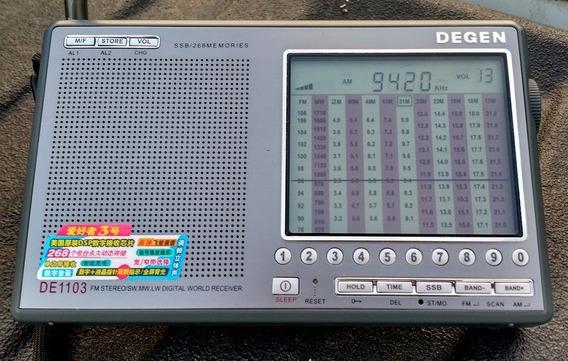 Rádio Hf Degen 1103 Ssb Receptor Radio Amador Px