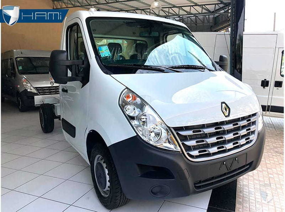 Renault Master Chassi L2h1 Branco 2020