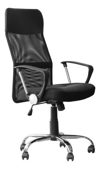 Cadeira Presidente De Escritório Em Tela Mesh - Tander