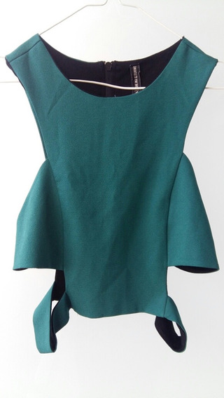 Remera Mujer Top Verde 47 St Street T 3 L M