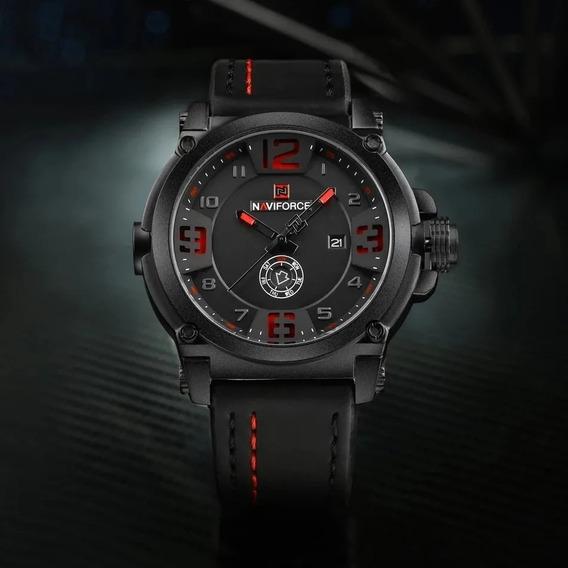 Relógio Masculino Esportivo Naviforce Mod 9099