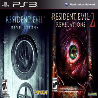 Resident Evil Revelations 1 - 2 Ps3 Digital Español Gcp