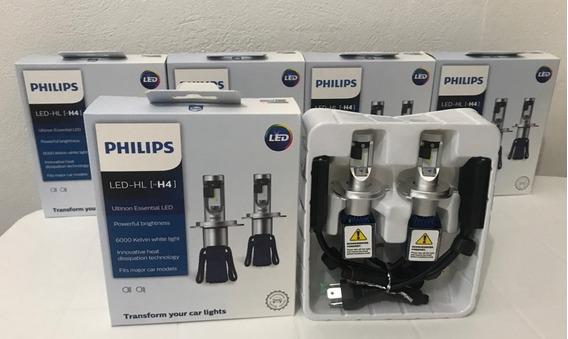 ( Original Leia ) Par Lâmpadas H4 Led Philips Ultinon 6000k