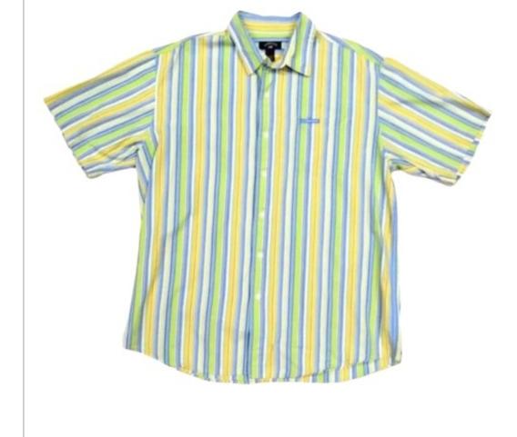 Camisa Us Polo Assn Corta Premium # L Fit Envio Inmediato