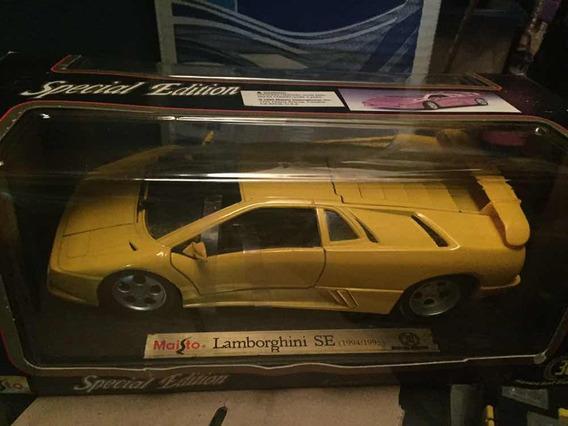 Lamborghini Se 1994/1995 Escala 1/18 Maisto Nuevo 25trummm
