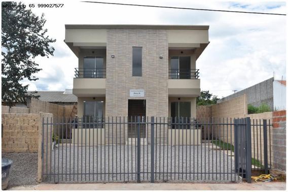 Apartamento Para Venda Em Cuiabá, Parque Residencial Tropical Ville, 2 Dormitórios, 1 Banheiro, 1 Vaga - 45_1-1212871