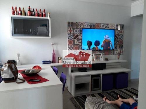 Apartamento Com 2 Dormitórios Para Alugar, 48 M² Por R$ 1.900,00/mês - Ipiranga - São Paulo/sp - Ap13064