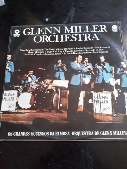 Lp Glenn Miller / 1971 / Os Grandes Sucessos Da Famosa Orqu