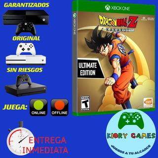 Dragon Ball Kakarot Ultimate Edition Xbox One