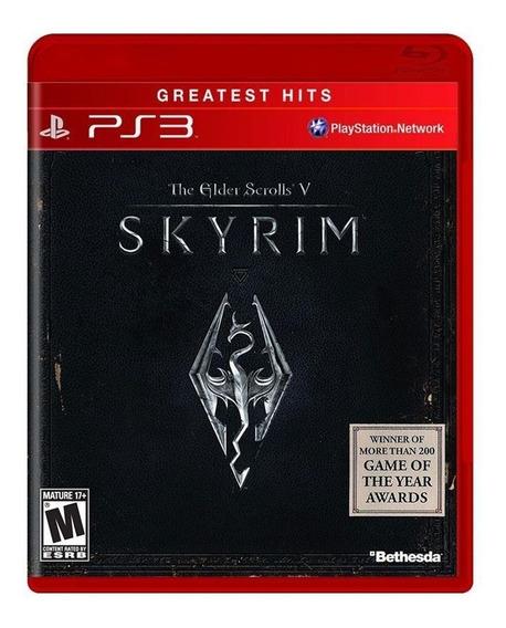 Jogo Para Ps3 Skyrim The Elder Scrolls V