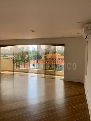 Apartamento No Brooklin Paulista, 150m² Com 3 Quartos, 2 Vagas Com Lazer Completo E Segurança 24h. - Cf60792