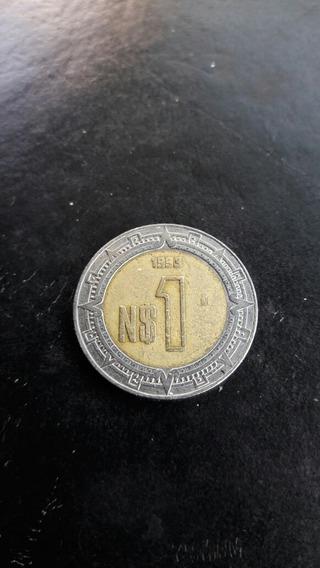 2 Monedas De 1 Peso Bimetalica De Colección, Año 1993 Y 1994