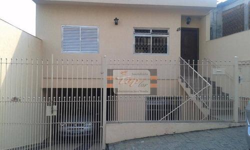 Sobrado Residencial À Venda, Vila Pereira Barreto, São Paulo - So0397. - So0397