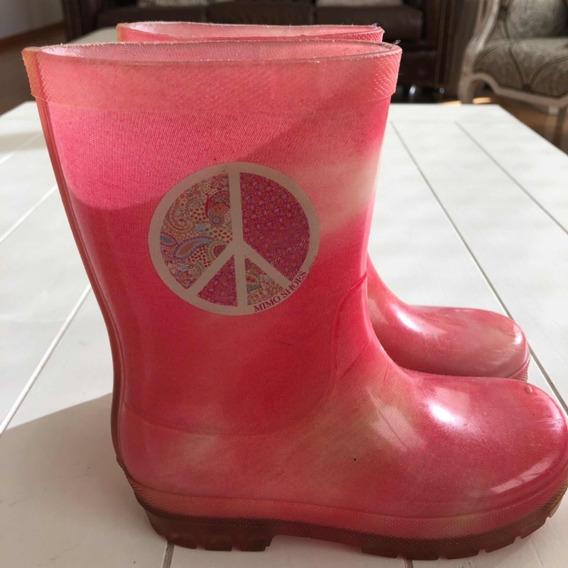 Botas De Lluvia Mimo Shoes Talle 27/28