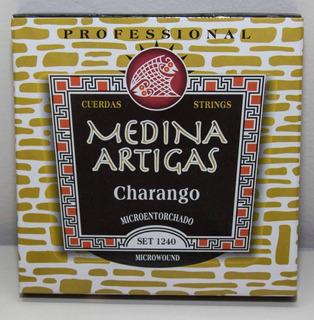 Encordado Charango Medina Artigas Microentorchado Profesiona