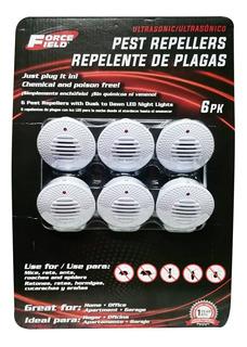 Repelente Ultrasonico Plagas Force Field X6 Hogar Cocina Jar