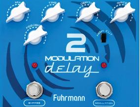 Pedal Modulation Delay 2 Pedaleira Guitarra Fuhrmann